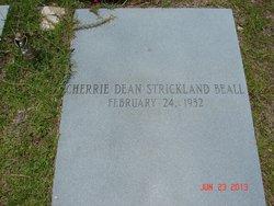 Cherrie Dean <i>Strickland</i> Beall
