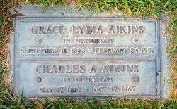 Grace Lydia <i>Patterson</i> Aikins