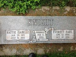 Hattie Isabelle <i>Hayter</i> Knight