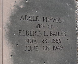 Adelle <i>Prevost</i> Bailes