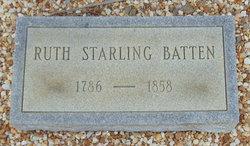 Ruth <i>Starling</i> Batten