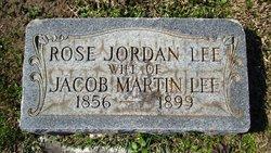 Rose <i>Jordan</i> Lee