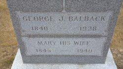 George Balbach