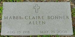 Mabel Claire <i>Bonner</i> Allen