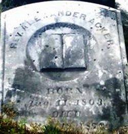 Rev Alexander Acker