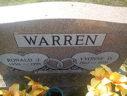 Yvonne D Warren