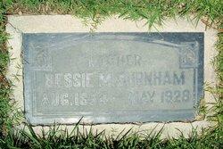 Bessie M Burnham