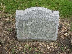 Johanna <i>Cotter</i> Barry
