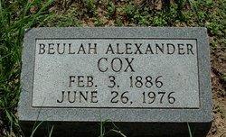 Beulah Ada <i>Pitts</i> Alexander Cox