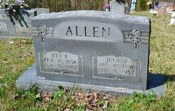 Julia Ann <i>Brewer</i> Allen
