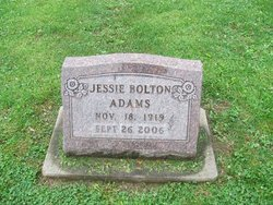 Jessie <i>Bolton</i> Adams
