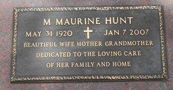 Mary Maurine <i>Howard</i> Hunt