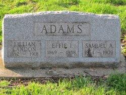 Effie I. <i>Smith</i> Adams