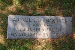 Abigail S. <i>Richardson</i> French