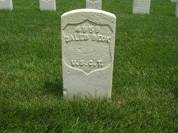 Pvt Caleb Beck