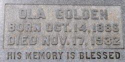 Ola E. Golden