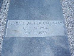 Clara E. <i>Dasher</i> Callaway