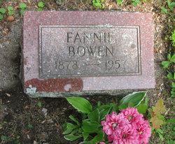 Frances Fannie <i>Adams</i> Bowen