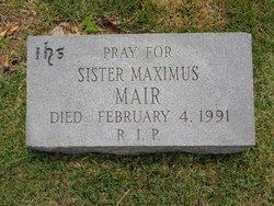 Sr Maximus Mair