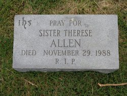 Sr Therese Allen