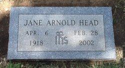 Jane (Mrs Jack Davis Head) <i>Arnold</i> Head