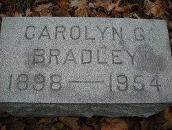 Carolyn G Bradley