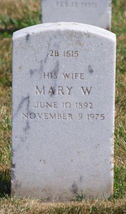 Mary Wilda Denhart