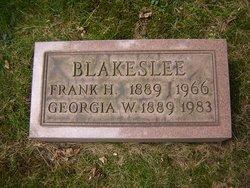 Georgia W Blakeslee