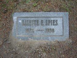 Lisette E Spies