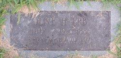 Olive Elizabeth <i>Hornsby</i> Erb