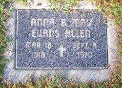 Anna B May Evans Allen