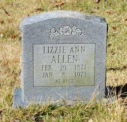 Lizzie Ann <i>Underwood</i> Allen