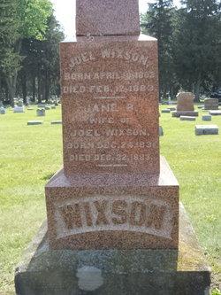 Jane Bishop Wixson
