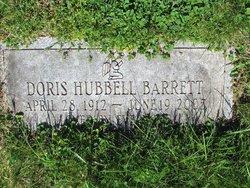 Doris <i>Hubbell</i> Barrett