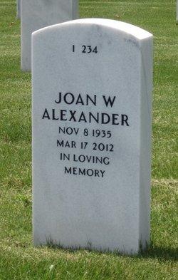 Joan W Alexander