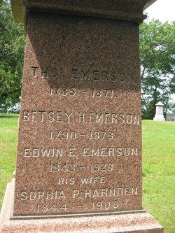 Sophia P. <i>Harnden</i> Emerson