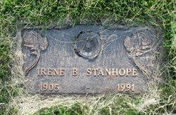 Irene B Stanhope