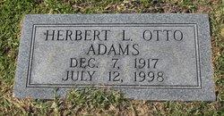 Herbert L. Otto Adams