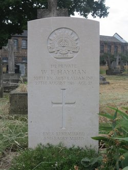 Private William Francis Hayman