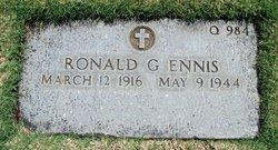 Ronald G Ennis