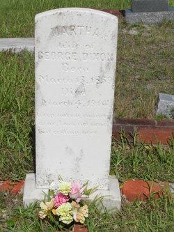 Martha B <i>Williams</i> Dixon