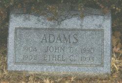 Elizabeth Ethel <i>Crosland</i> Adams