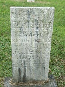 Elizabeth Ann <i>Young</i> Bates