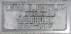 Emma R <i>Bowlus</i> Brown