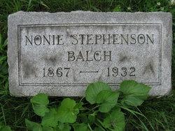 Nonie Julia <i>Stephenson</i> Balch