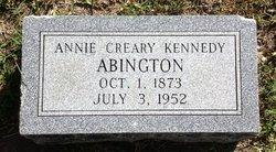 Annie Creary <i>Kennedy</i> Abington