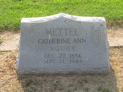 Catherine Ann <i>McKennon</i> Hettel