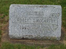 Robert T McCarthy