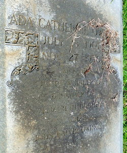 Ada Catherine <i>Owings</i> Anderson