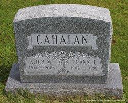 Alice M <i>Clyde</i> Cahalan